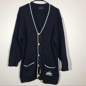 Bogner Button Sweater Cardigan Crest